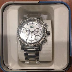 Lacoste Watch Women's Silver